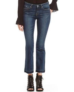 Cherish Cropped Flared Jeans