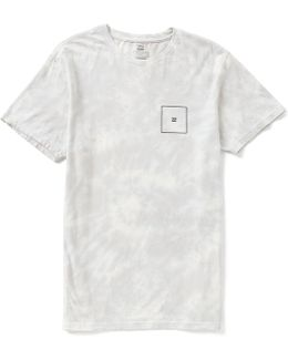Squared Up Wave-washed Softhand Graphic Print Premium Tee