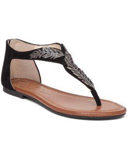 Kalie Suede Metallic Embellishment Sandals