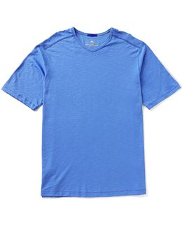 Big & Tall Portside Player Short-sleeve V-neck Tee
