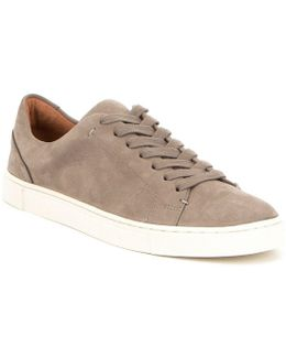 Ivy Soft Tumbled Leather Lace Sneakers