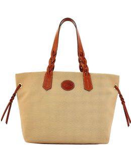 Nylon Shopper Tote