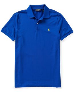 Polo Golf Performance Pique Short-sleeve Solid Polo Shirt