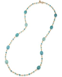 Paradise Found Turquoise Station Necklace