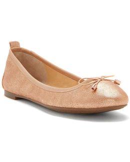 Nalan Leather Flats