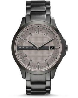 Ax Armani Exchange Hampton Analog & Date Bracelet Watch