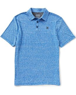 Stiller 2.0 Polo Heather Short-sleeve Polo
