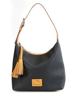 Patterson Collection Paige Tasseled Hobo Bag