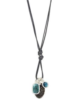 Multi-charm Pendant Necklace