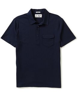 Jack 2.0 Slim-fit Short-sleeve Solid Polo Shirt