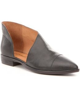 Royale D ́orsay Slip-on Leather Boots