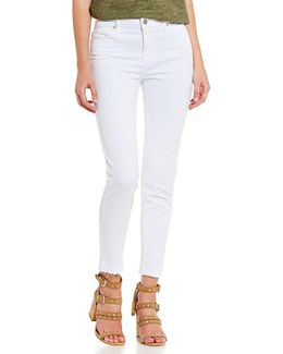 Robbie High Rise Ankle Skinny Jeans