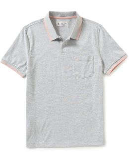 Performance Solid Short-sleeve Polo Shirt