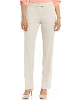 Washable Suiting Sydney Classic Straight-leg Pants