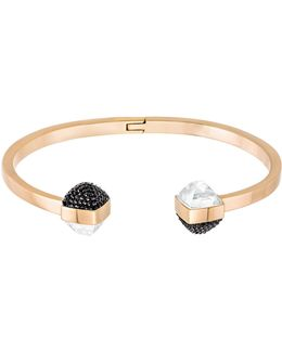 Glance Hinged Bangle Bracelet