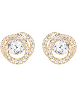 Generation Crystal Pavé Stud Earrings