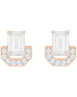 Gallery Square Stud Earrings