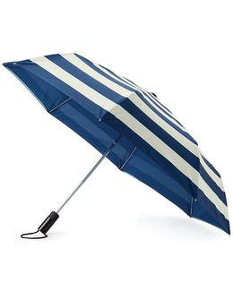 Jubilee Striped Travel Umbrella