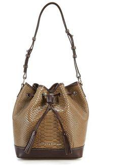 Caldwell Collection Tasseled Drawstring Bag