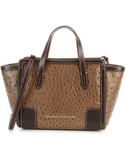 Ostrich Collection Small Shopper