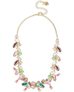Mixed-stone Collar Necklace