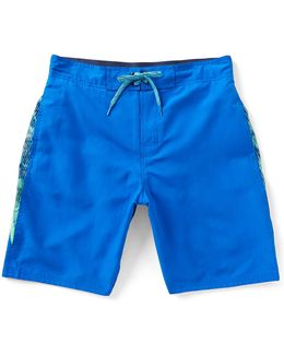 Filter Splice E-board Swim Trunks