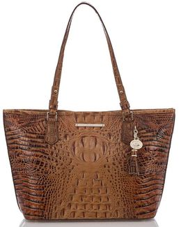 Toasted Almond Collection Medium Asher Tote