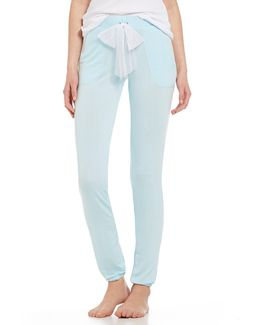 Blue By Draped French Terry Lounge Pants