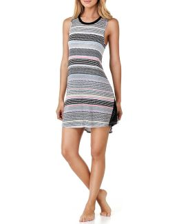 Striped Jersey Chemise