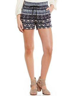 Bobbi Printed Soft Shorts