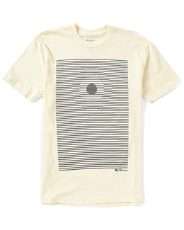 Target Stripe Graphic Short-sleeve Tee