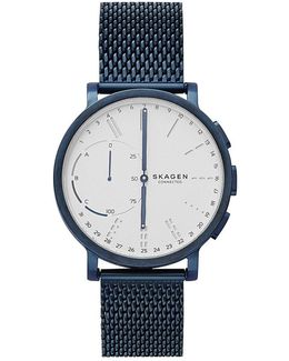 Hagen Connected Mesh Bracelet Hybrid Smart Watch