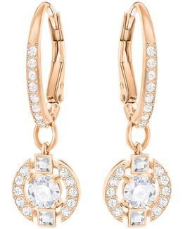 Sparkling Pavé Drop Earrings