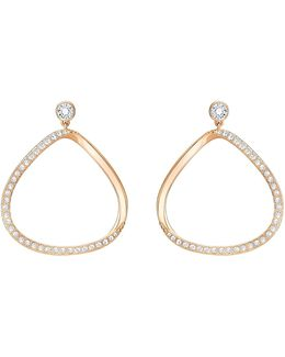 Gaya Pavé Drop Earrings