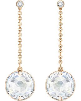 Globe Linear Drop Earrings