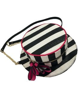 Hats Off Striped Cross-body Bag