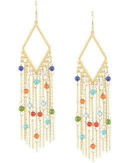Pop Style Chandelier Earrings