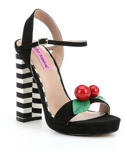 Izzie Cherry Platform Sandals