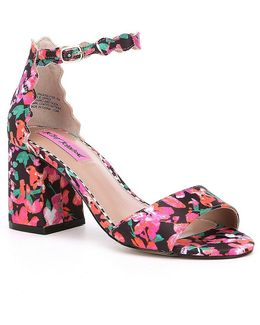 Joslyn Floral Pattern Sandals