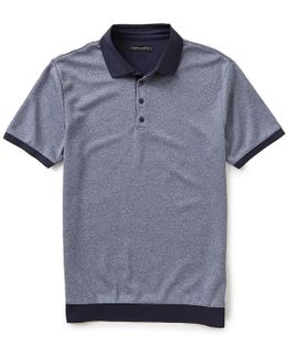 Slim-fit Short-sleeve Polo Shirt