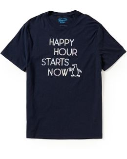 Happy Hour Short-sleeve Graphic Tee