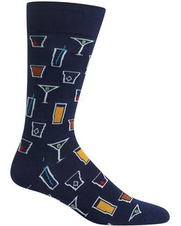 Cocktails Crew Socks