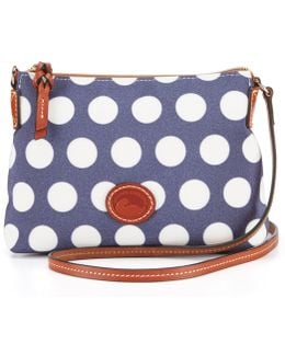 Saybrook Collection Dotted Cross-body Pouchette