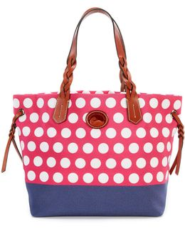 Saybrook Collection Dotted Shopper