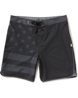 Phantom Block Party Usa Americana Board Shorts