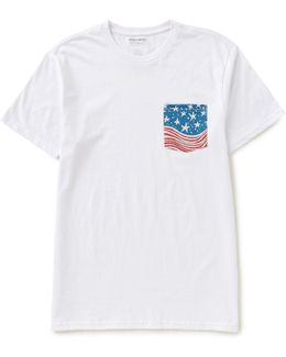 Team Americana Short-sleeve Pocket Tee