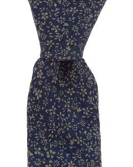 Ramoni Floral Skinny Cotton Tie