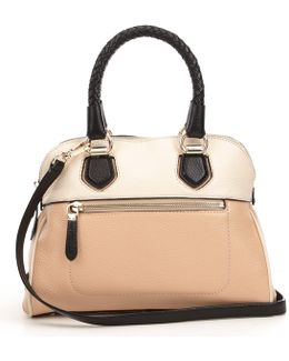 Tali Colorblocked Small Dome Satchel