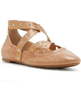 Nariah Elastic Strap Ballet Flats