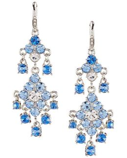Something Blue Chandelier Earrings